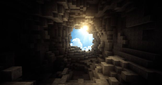 A Beautiful Day in Minecraft
