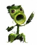 PvZGW PPeashooterRGB 01 125x150 باغچه علیه قبرستان | پیش نمایش Plants Vs Zombies Garden Warfare