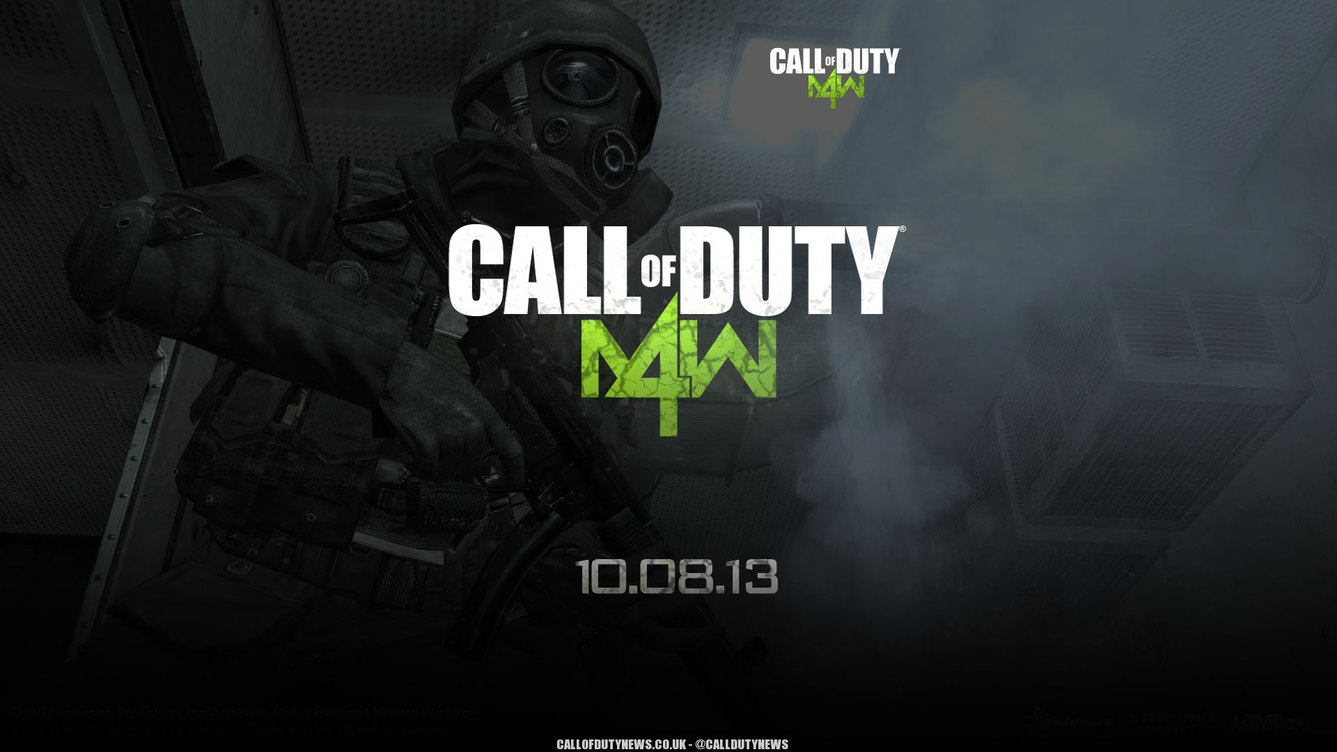 mw4 modern warfare 4 wallpaper 3 COD 2014 بسیار بهتر از Ghosts خواهد بود