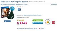 Capture15 200x109 عنوان The Last of Us Complete Edition در یک خرده فروش برای PS4 در حال فروش است