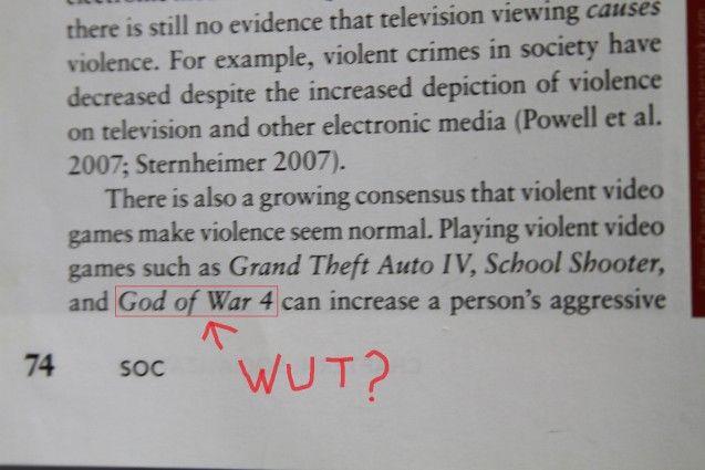 god of war 4 blamed for violence آیا God of War 4 در راه است؟