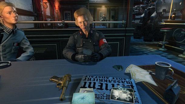 wolfensteintrain 610 زنده باد هیتلر | نقد و بررسی Wolfenstein: The New Order