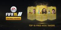 لیست 10 ضربه آزاد زن برتر FIFA 15 مشخص شد