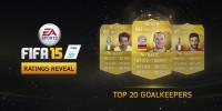 لیست بیست دروازه بان برتر FIFA 15 توسط EA Sports منتشر شد