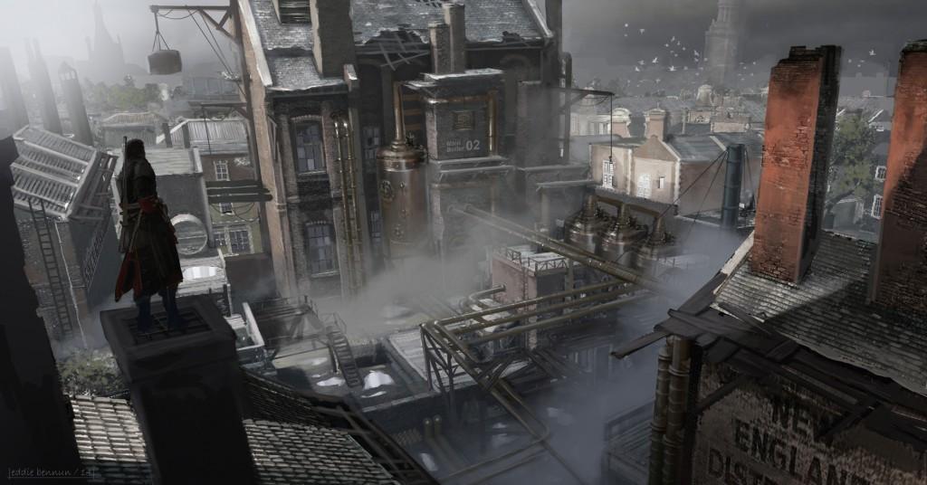 با تصاویر هنری جدیدی از بازی Assassins Creed Rogue همراه باشید