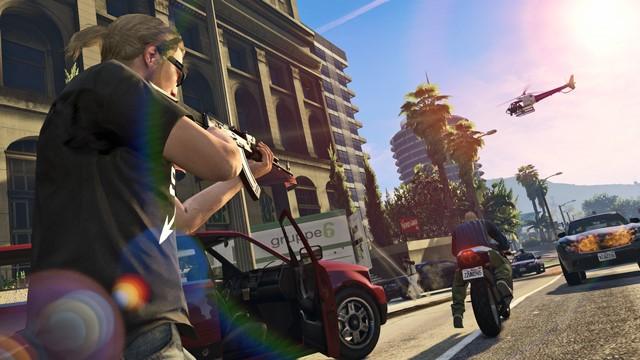 Getting Ready for the Next Generation in Los Santos تصاویر جدید از مسابقات 30 نفره در GTA Online | بروز رسانی روز اول برای نسخه های PS4 و Xbox One