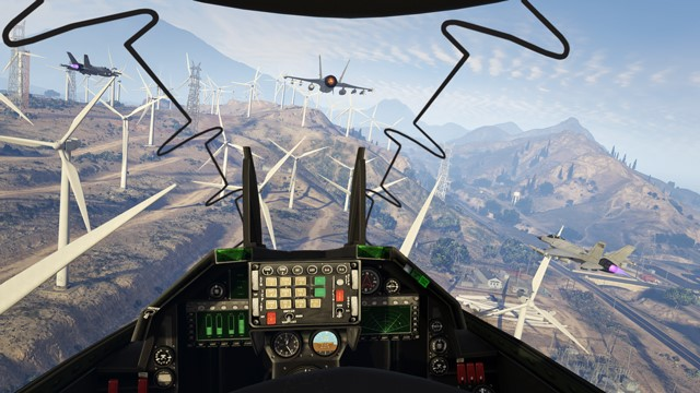 The GTA Online First Person Experience تصاویر جدید از مسابقات 30 نفره در GTA Online | بروز رسانی روز اول برای نسخه های PS4 و Xbox One