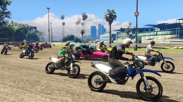 Up to 30 Player Mayhem تصاویر جدید از مسابقات 30 نفره در GTA Online | بروز رسانی روز اول برای نسخه های PS4 و Xbox One