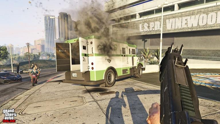 gta 5 ps4 xo 10 48 تصویر جدید از بازی GTA V بر روی Xbox One و PS4 منتشر شد | تصاویر نسخه PC به زودی