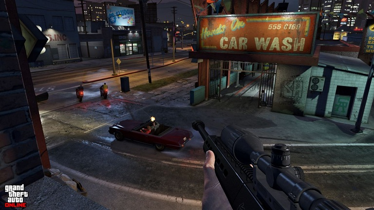 gta 5 ps4 xo 13 48 تصویر جدید از بازی GTA V بر روی Xbox One و PS4 منتشر شد | تصاویر نسخه PC به زودی