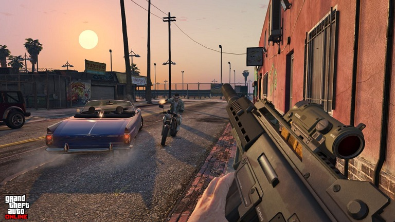 gta 5 ps4 xo 14 48 تصویر جدید از بازی GTA V بر روی Xbox One و PS4 منتشر شد | تصاویر نسخه PC به زودی