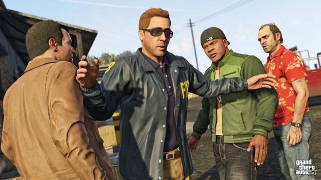 gta 5 ps4 xo 42 48 تصویر جدید از بازی GTA V بر روی Xbox One و PS4 منتشر شد | تصاویر نسخه PC به زودی
