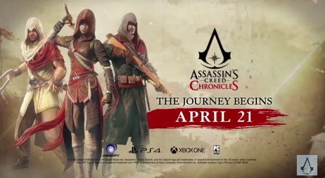 2838730 chronicles Assassin's Creed با سه گانه ی جدید به چین، هند و روسیه می رود
