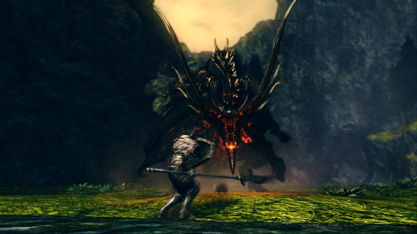 Black dragon Kalameet ۱۵ غول برتر سری Dark Souls