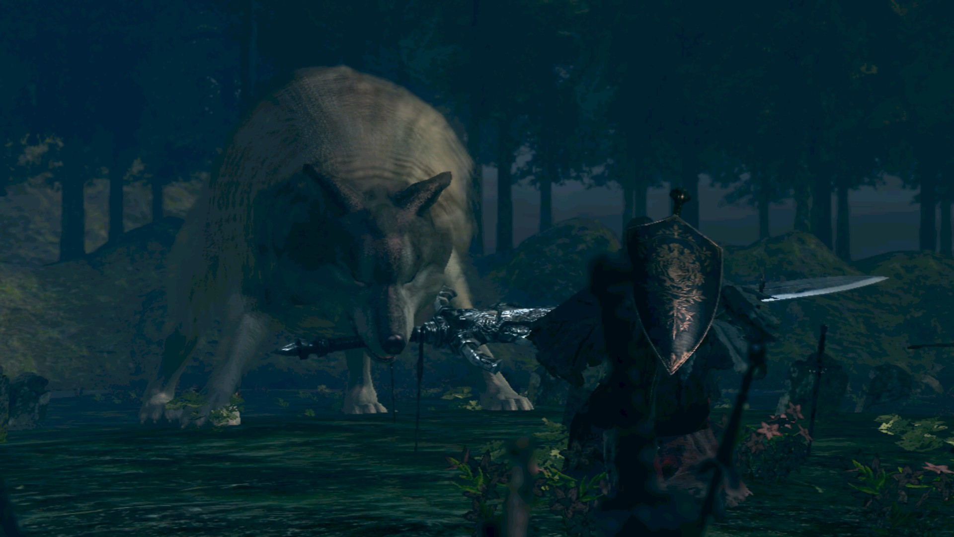 Sif the great grey wolf ۱۵ غول برتر سری Dark Souls