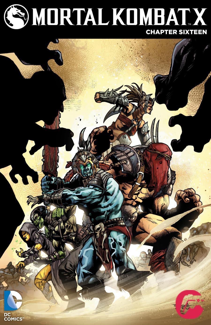 cOV1 قسمت شانزدهم کامیک بوک Mortal Kombat X | ترجمه ی اختصاصی گیمفا