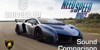 مقایسه صداگذاری بازی Driveclub و Need for Speed: Rivals