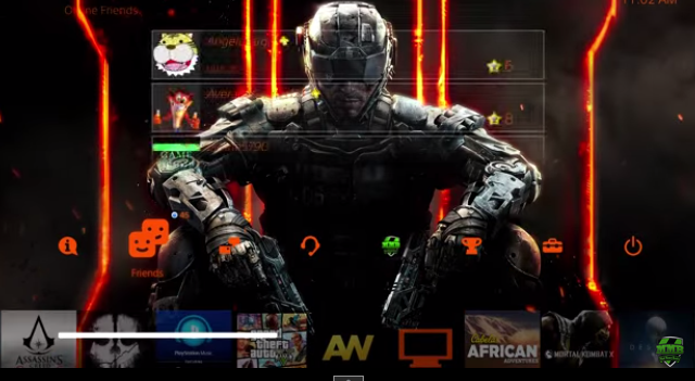 Capture11 با تم Call of Duty: Black Ops III بر روی PS4 آشنا شوید