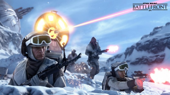 آخر هفته پیش رو را با امتیاز تجربه دوبرابر عنوان Star Wars: Battlefront خوش بگذرانید