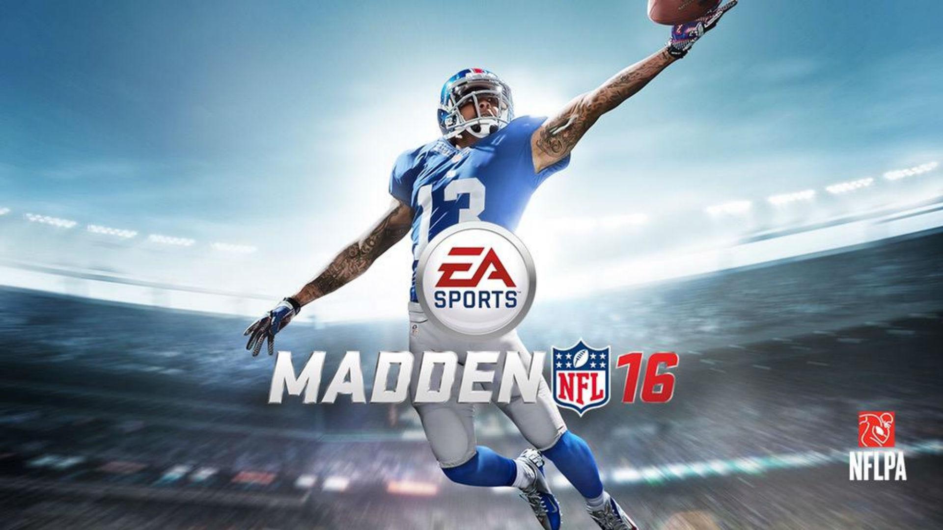 odell beckham jr madden nfl 16 cover ftrjpg py1r6b9do4491kzjg0vg9j10q Madden NFL 16 ماه آینده به سرویس EA Access افزوده میشود