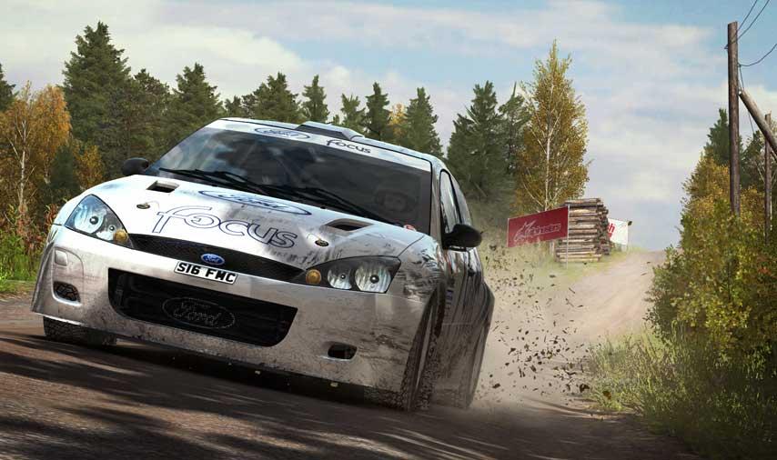 dirt rally flying finland 2 توضیحاتی در رابطه با گرافیک نسخه کنسولی Dirt Rally | پلی استیشن ۴ کار را راحت تر می کند