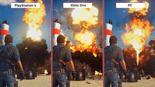هر 3 نسخه بازی کیفیت گرافیکی خوبی دارند ولی نسخه پی سی بهترین است و بعد پلی استیشن 4 و بعد ایکس باکس وان البته با تفاوتهایی بسیار جزئی