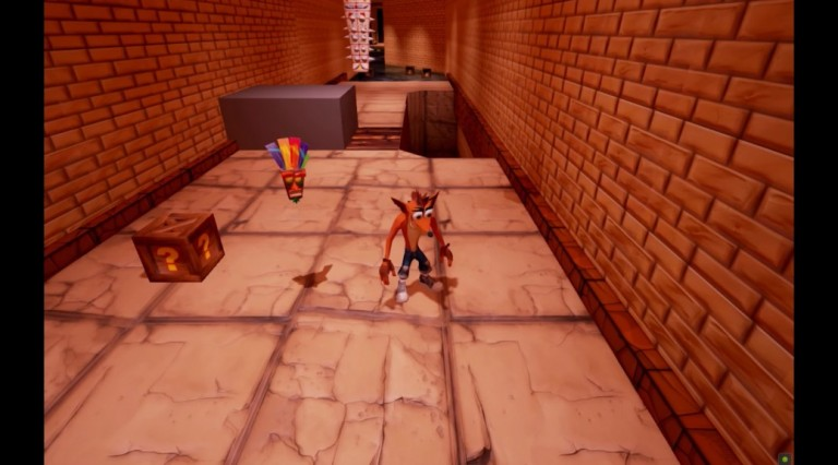 Crash Bandicoot Unreal Engine 4 new 1038x576 768x426 تماشا کنید: بازسازی Crash Bandicoot در انجین Unreal Engine 4 شگفت انگیز به نظر میرسد