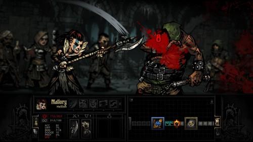 darkest dungeon03 e1453527459368 تاریک، مرگبار، لذتبخش | نقد و بررسی بازی Darkest Dungeon