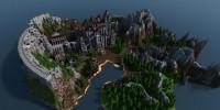 بازسازی منطقه Anor Londo عنوان Dark Souls در Minecraft
