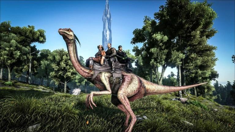 ark survival evolved gallimimus 1152x648 768x432 بهروزرسان جدید Ark: Survival Evolved موارد متنوعی را به بازی اضافه میکند