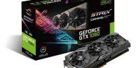 ظهور نسل جدید کارت گرافیک های ایسوس ROG STRIX GeForce® GTX 1080