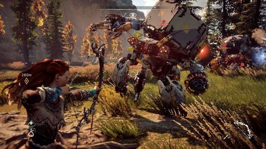 کلی نکته جدید در ویدئوی Horizon بود... مبارزات بازی معرکه هستند