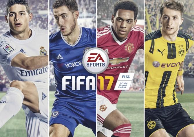 برای انتخاب شخصیت روی جلد FIFA 17 رای دهید
