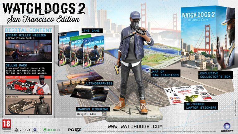 Watch Dogs 2 – شش نسخه ویژه بهصورت رسمی توسط یوبیسافت تایید شد