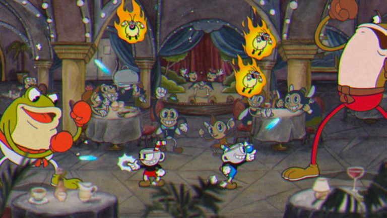 تماشا کنید: رونمایی از گیمپلی سکو بازی در Cuphead