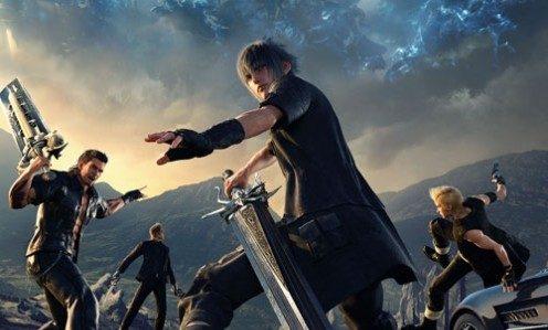 طرح نهایی روی جلد بازی Final Fantasy 15 منتشر شد