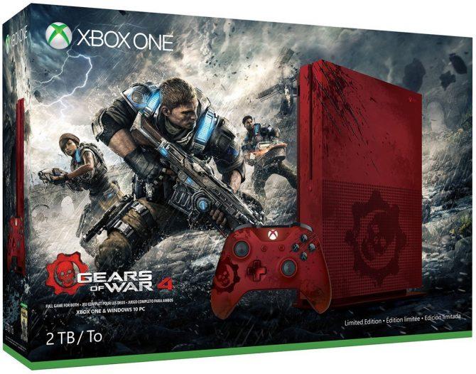 مایکروسافت باندل Gears of War 4 کنسول ایکسباکسواناس را معرفی کرد