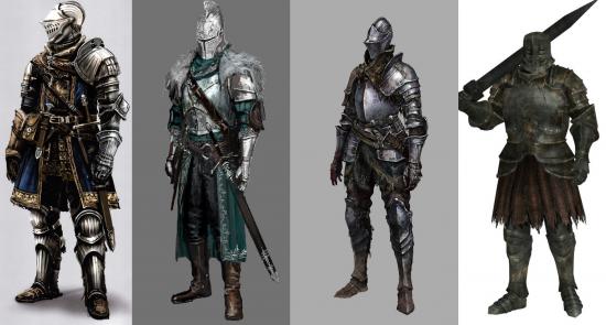 پیشرفت در دقت به جزئیات از Demon's Souls تا Dark Souls 3 کاملا مشهود است.