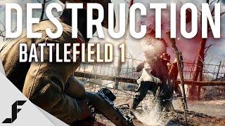 Battlefield 1 – ویدیوی منتشر شده جدید میزان تخریبپذیری را نشان میدهد