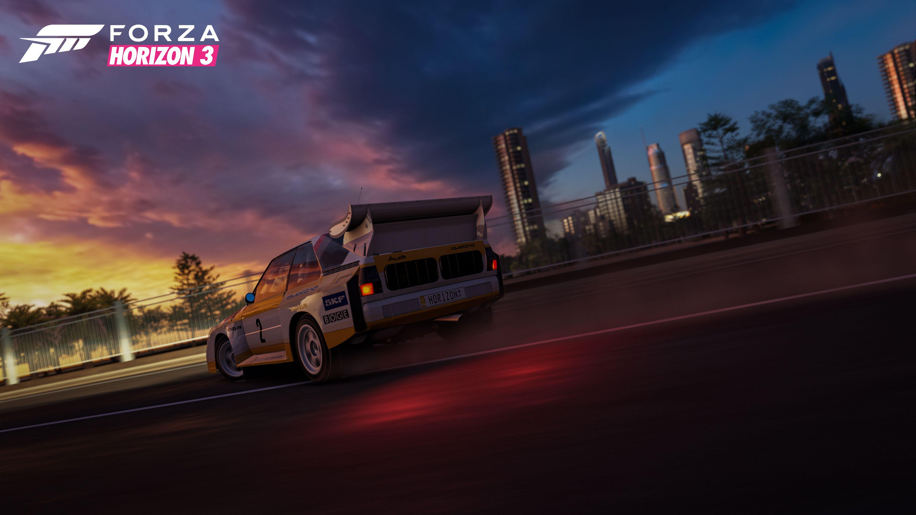 Forza Horizon 3 Sunset Skyline