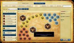 تصویری از قسمت مخصوص چینش Runes دلخواه پیش از انحام بازی