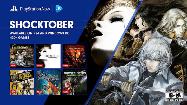 هالووین را با ۱۳ بازی جدید در سرویس PlayStation Now جشن بگیرید