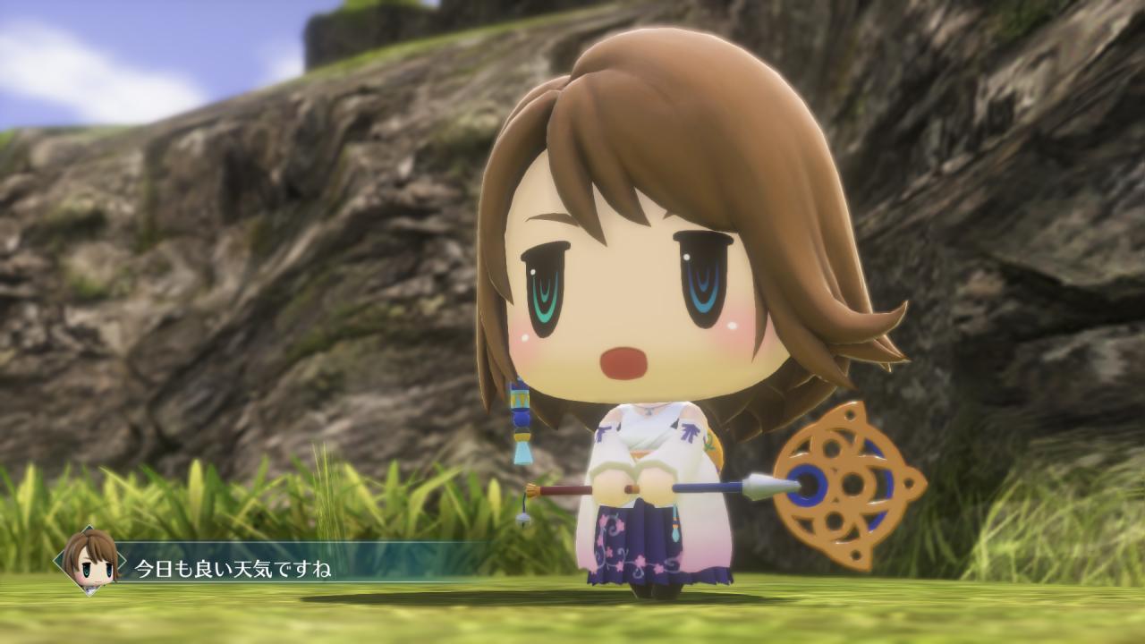 بازی World of Final Fantasy برای رایانههای شخصی عرضه شد