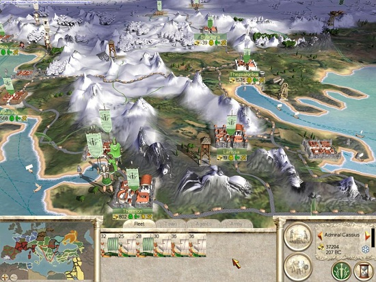۲ روزی روزگاری: امپراطوری روم، زیر سم اسب های تاریخ | نقد و بررسی بازی Rome: Total War روزی روزگاری: امپراطوری روم، زیر سم اسب های تاریخ | نقد و بررسی بازی Rome: Total War 2 2