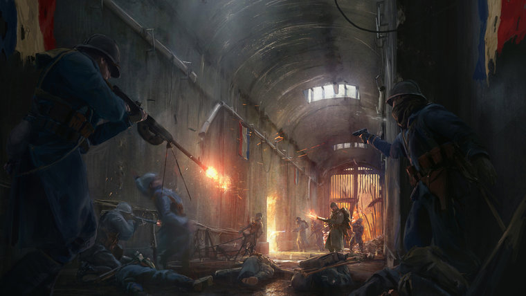 تاریخ انتشار بسته الحاقی They Shall Not Pass برای Battlefield 1 مشخص شد