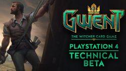 بتای نسخه پلیاستیشن 4 عنوان Gwent: The Witcher Card Game از فردا آغاز میشود
