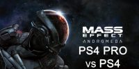 مقایسه گرافیکی Mass Effect Andromeda بین پلیاستیشن ۴ و پلیاستیشن ۴ پرو