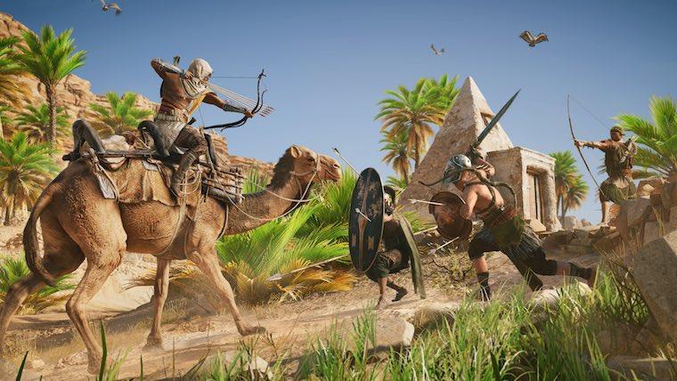 یوبیسافت اطلاعات تازهای در رابطه با بروزرسانهای رایگان Assassin's Creed Origins انتشار داد