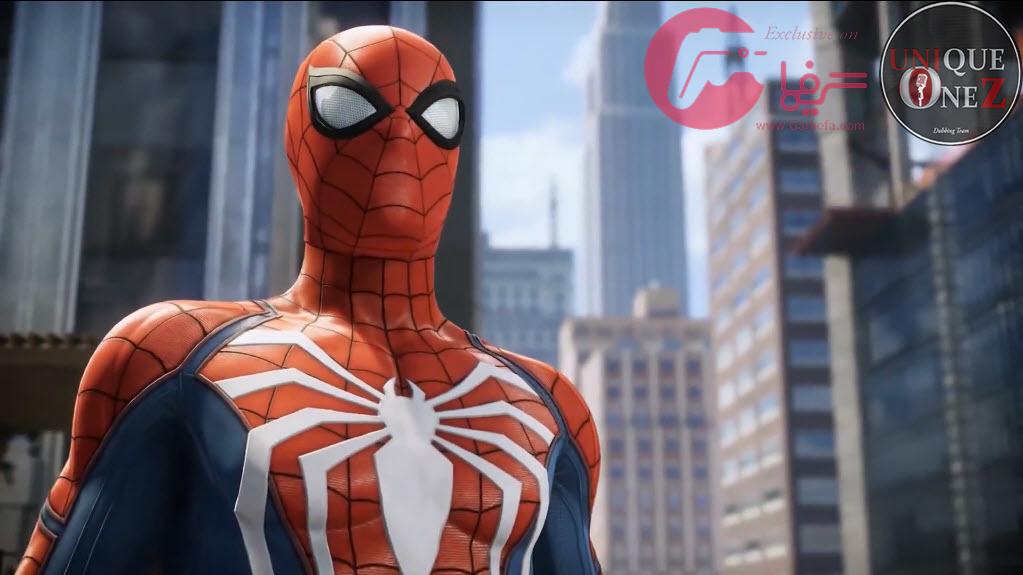 دوبله ی فارسی ۹ دقیقه از گیم پلی بازی Spider-Man