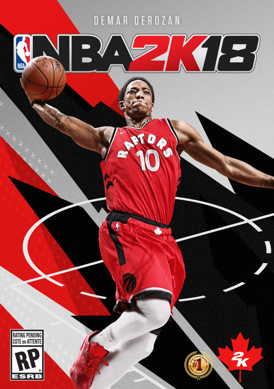 برای اولین بار در تاریخ، NBA 2K18 کاور مخصوص برای منطقه کانادا خواهد داشت
